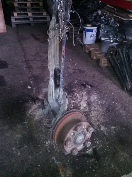 Балка со ступицами Toyota Dyna XZU411 S05D (б/у)