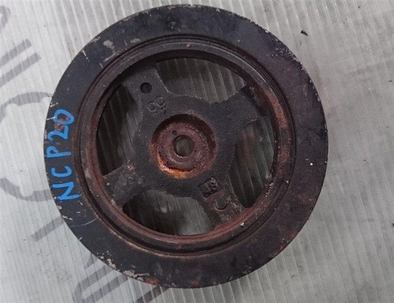 Шкив коленвала Toyota Funcargo NCP20 (б/у)