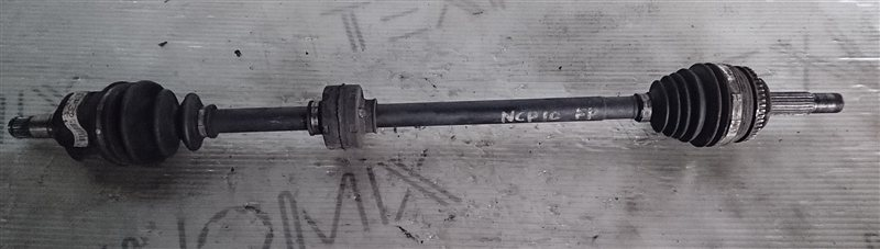 Привод Toyota Vitz NCP10 передний правый (б/у)