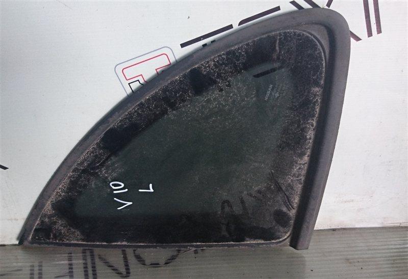 Стекло собачника Nissan Tino V10 левое (б/у)