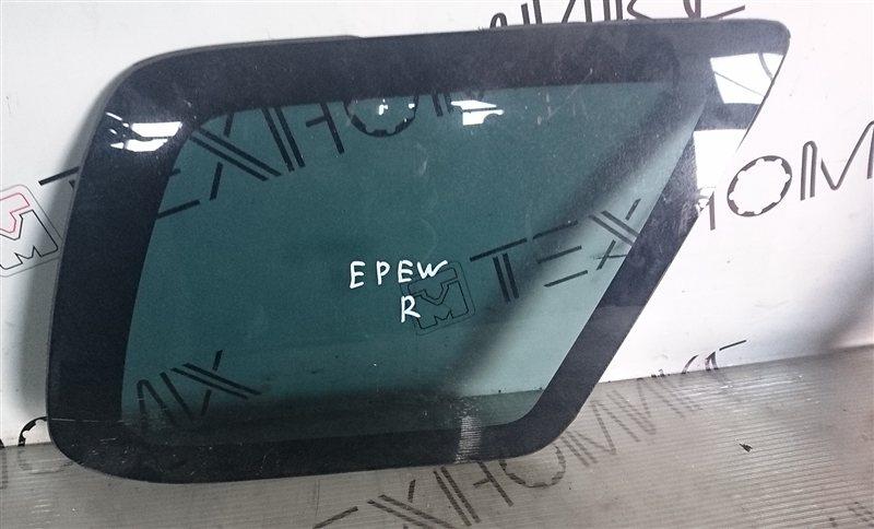 Стекло собачника Mazda Tribute EPEW правое (б/у)