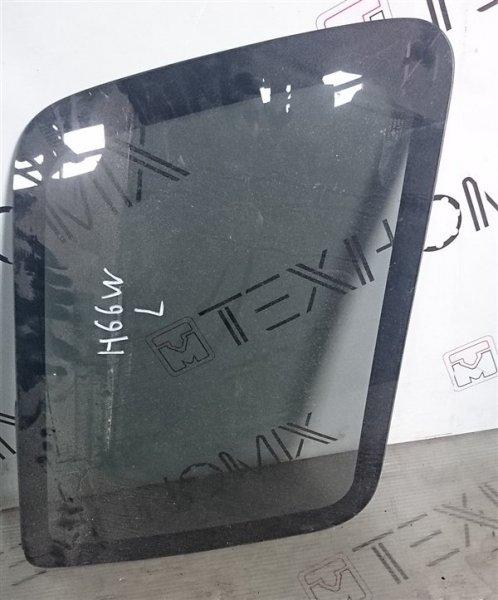 Стекло собачника Mitsubishi Pajero Io H66W левое (б/у)