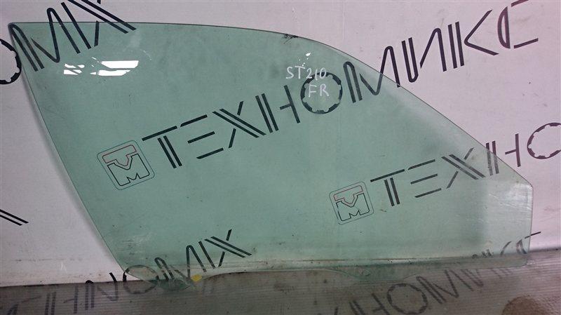 Стекло двери Toyota Premio ST210 переднее правое (б/у)
