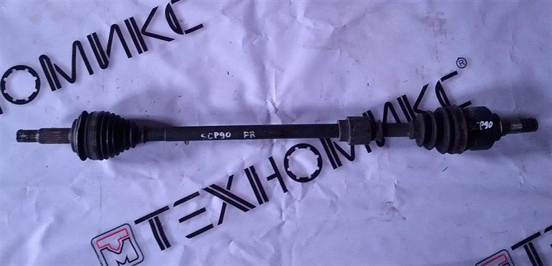 Привод Toyota Vitz SCP90 передний правый (б/у)