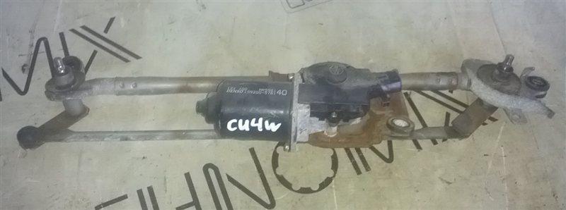 Мотор дворников Mitsubishi Airtrek CU4W 4G64 (б/у)