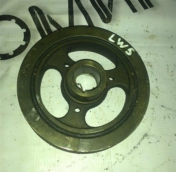 Шкив коленвала Mazda Mpv LW5W GY (б/у)
