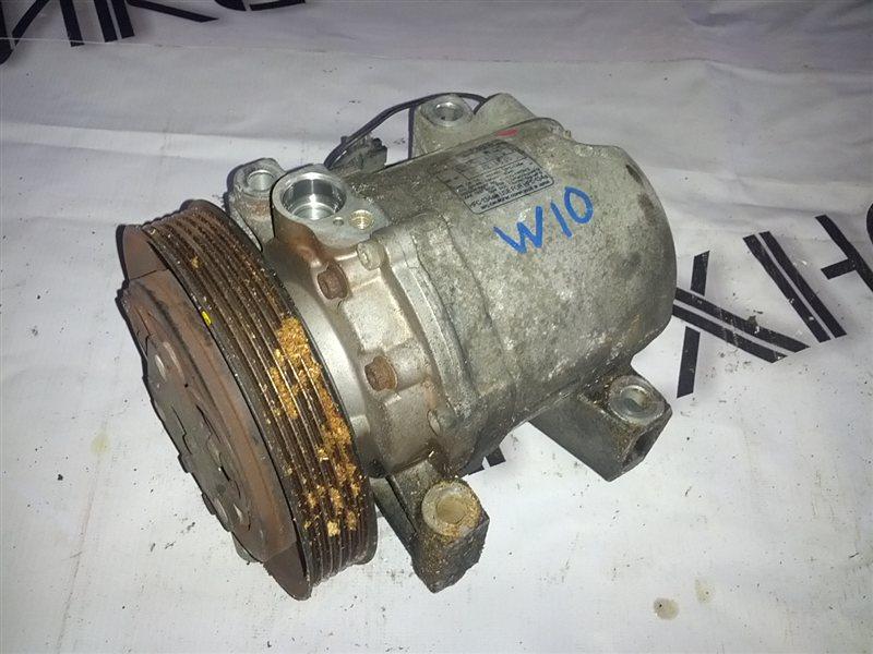 Компрессор кондиционера Nissan Avenir W10 SR18(DE) (б/у)