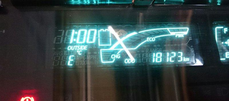 Спидометр Toyota Aqua NHP10 (б/у)