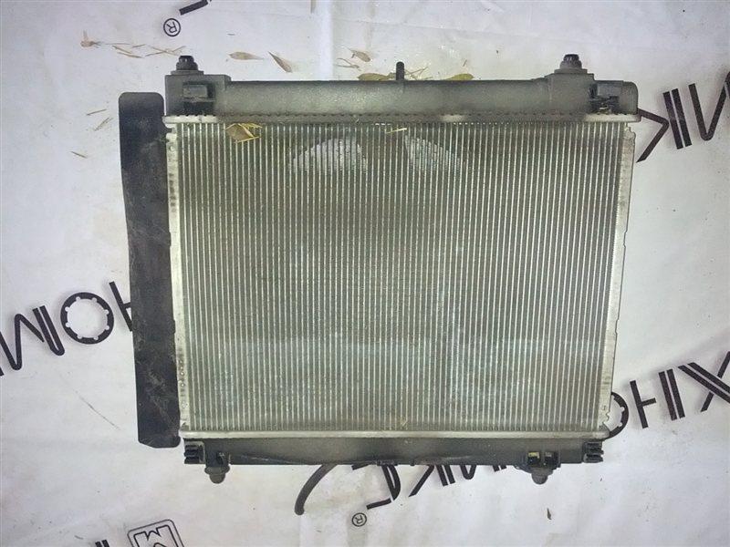 Радиатор основной Toyota Ractis NCP100 (б/у)