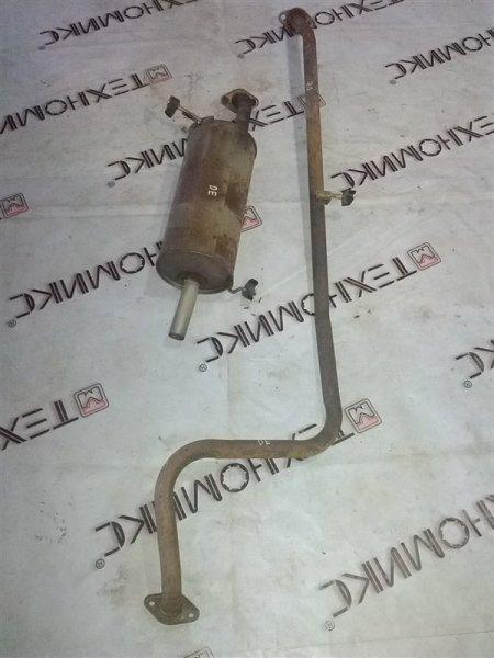 Глушитель Mazda Demio DE3FS ZJ-VE (б/у)