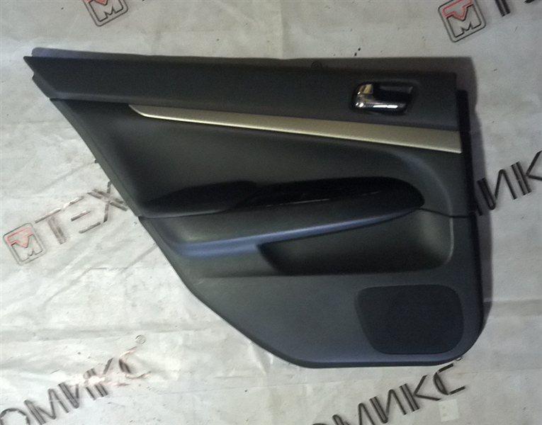 Обшивка дверей Nissan Skyline V36 задняя левая (б/у)