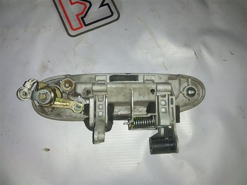 Ручка двери внешняя Toyota Vitz SCP10 передняя правая (б/у)