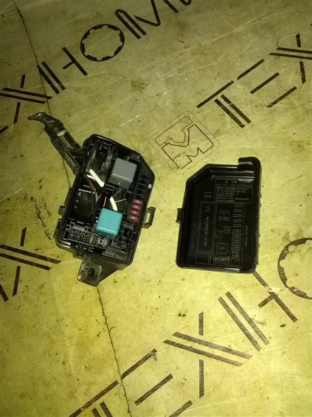 Блок предохранителей Toyota Ractis NSP120 1NR-FE 2011 (б/у)