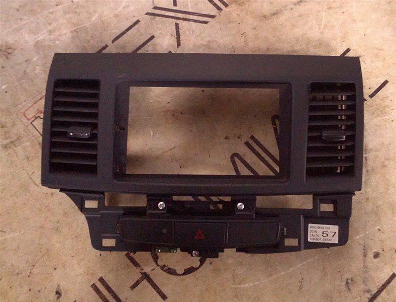 Рамка магнитофона Mitsubishi Galant Fortis CY6A 4J10 2012 (б/у)