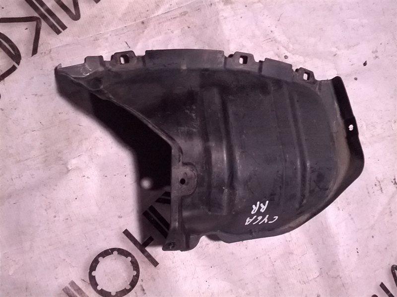 Подкрылок Mitsubishi Galant Fortis CY6A 4J10 задний правый (б/у)