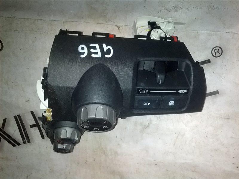 Блок управления климат-контролем Honda Fit GE6 L13A 2009 (б/у)