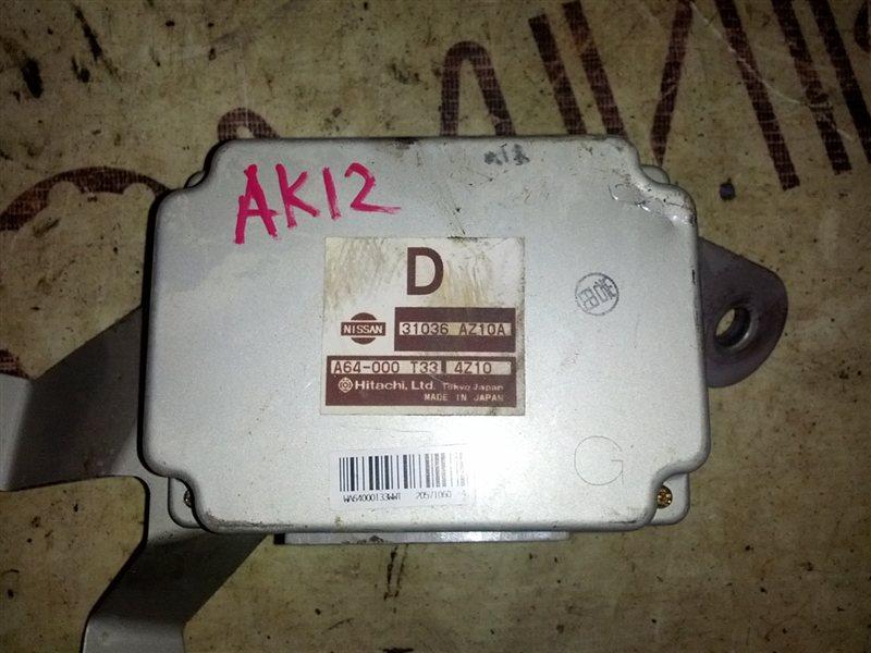 Блок управления акпп Nissan March AK12 CR12(DE) 2005 (б/у)