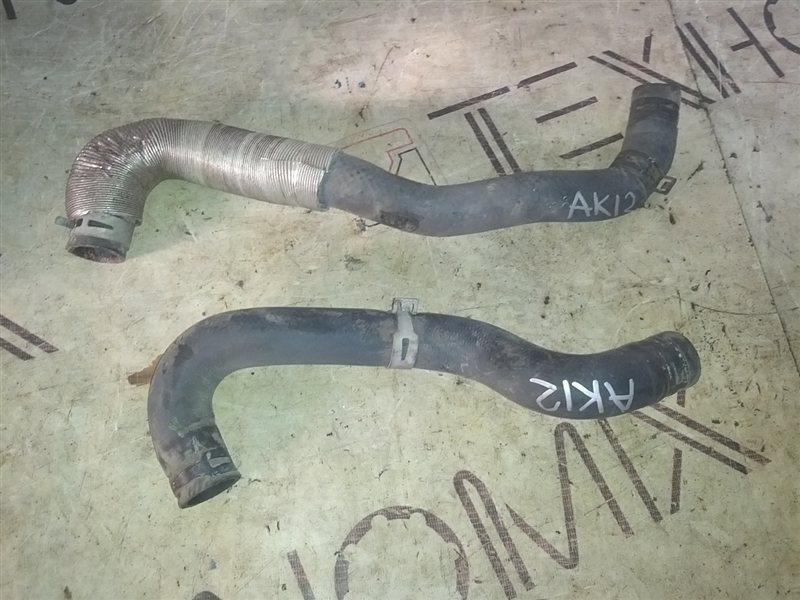 Патрубок системы охлаждения Nissan March AK12 CR12(DE) 2005 (б/у)
