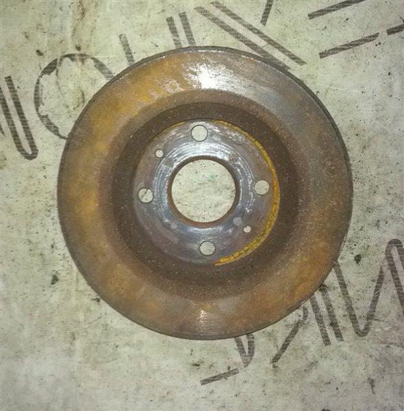 Тормозной диск Toyota Passo KGC10 1KR-FE передний левый (б/у)