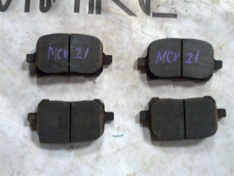 Тормозные колодки Toyota Windom MCV21 2MZ-FE (б/у)