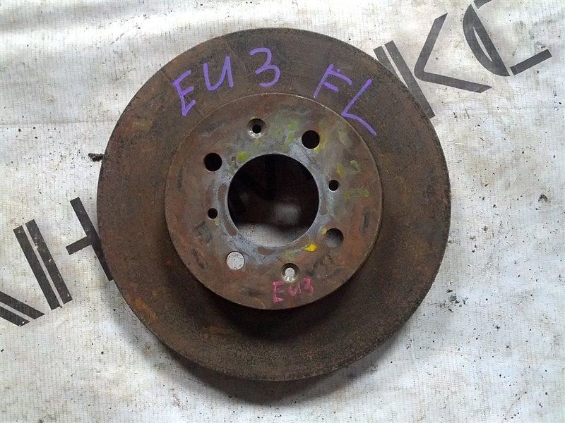 Тормозной диск Honda Civic EU3 D17A передний левый (б/у)