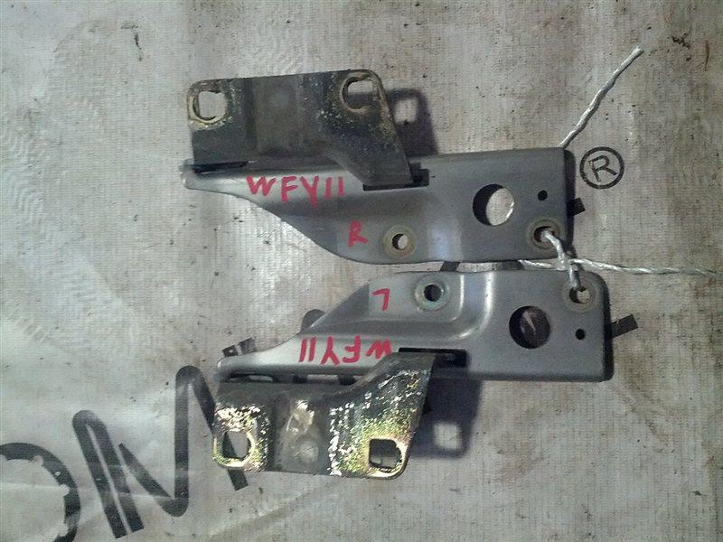 Петля капота Nissan Wingroad WFY11 QG15(DE) 1999 (б/у)