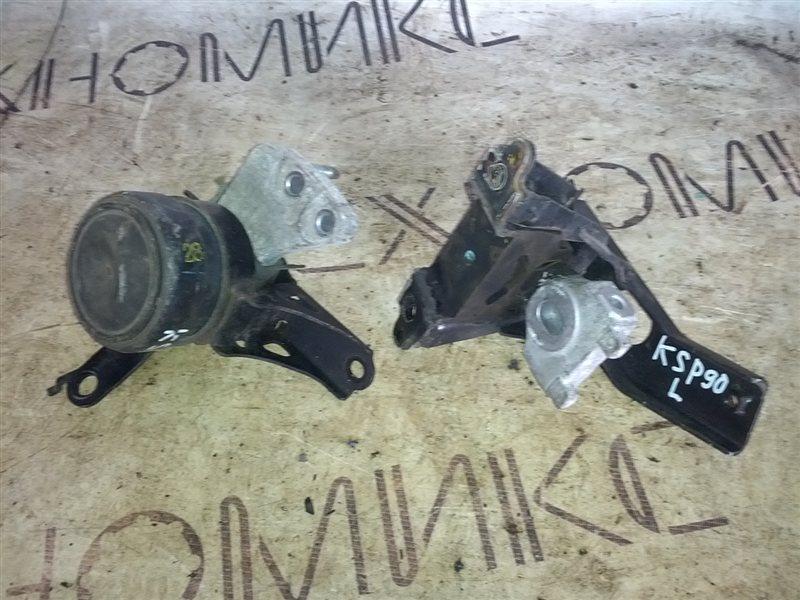 Подушка двигателя Toyota Vitz KSP90 1KR-FE (б/у)