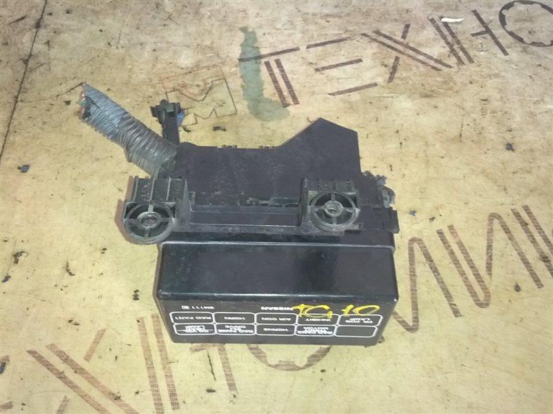 Блок предохранителей Nissan Bluebird Sylphy TG10 QR20(DE) (б/у)