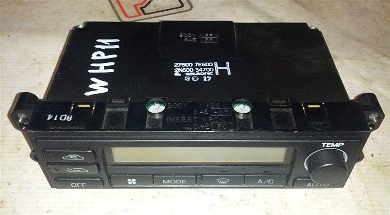 Блок управления климат-контролем Nissan Primera WHP11 SR20(VE) 1998 (б/у)