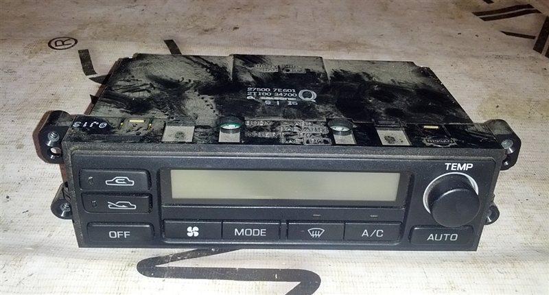 Блок управления климат-контролем Nissan Bluebird HU14 SR20(DE) 1999 (б/у)