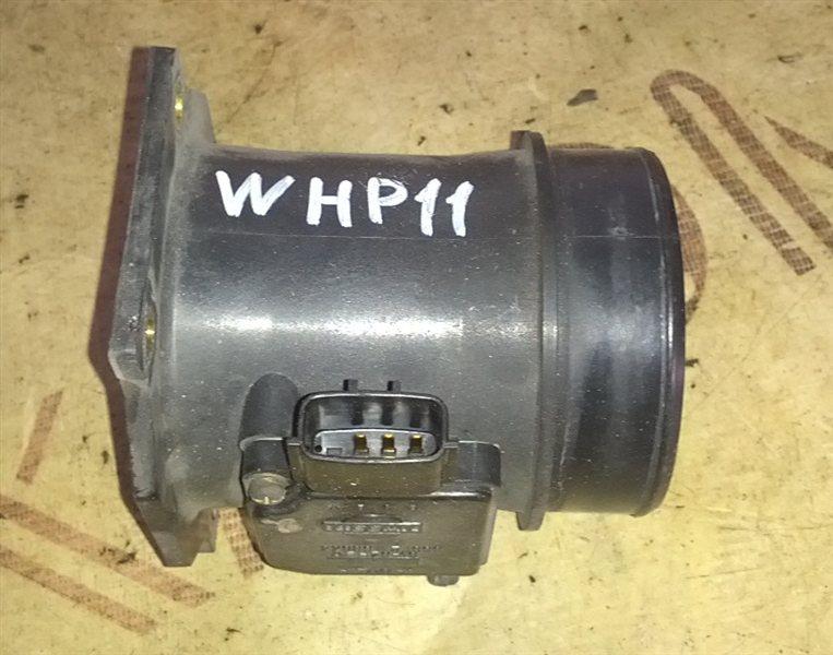Расходомер воздушный Nissan Primera WHP11 SR20(VE) 1998 (б/у)