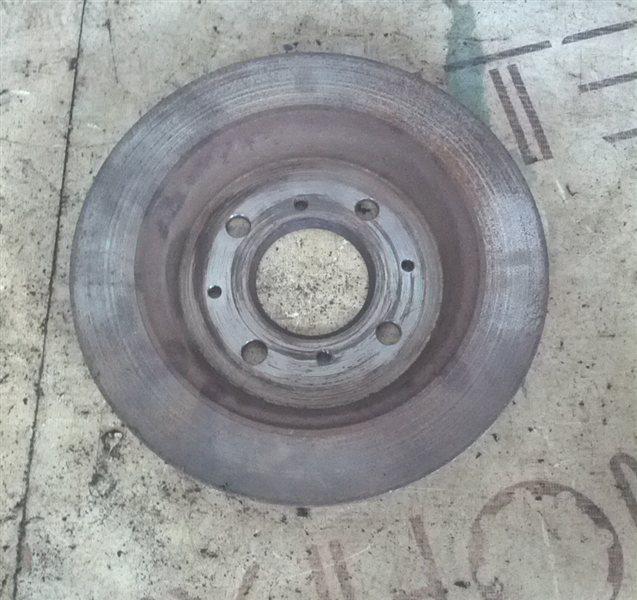 Тормозной диск Honda Fit GE8 2008 задний левый (б/у)