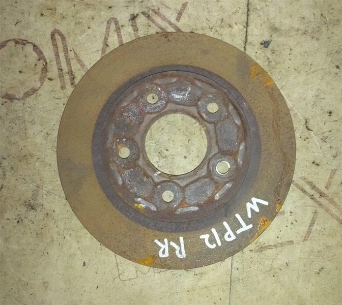 Тормозной диск Nissan Primera WTP12 QR20(DE) 2002 задний правый (б/у)