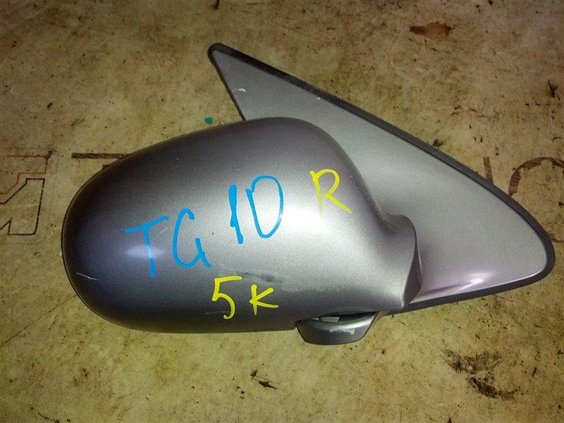Зеркало Nissan Bluebird Sylphy TG10 QR20(DE) 2002 правое (б/у)