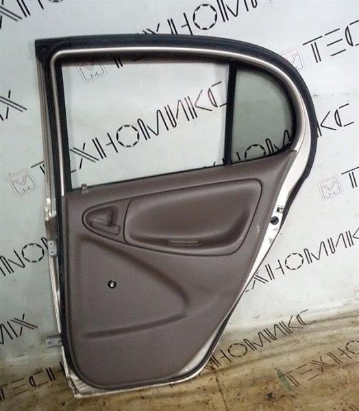Дверь Toyota Platz SCP11 1SZ-FE 2002 задняя правая (б/у)