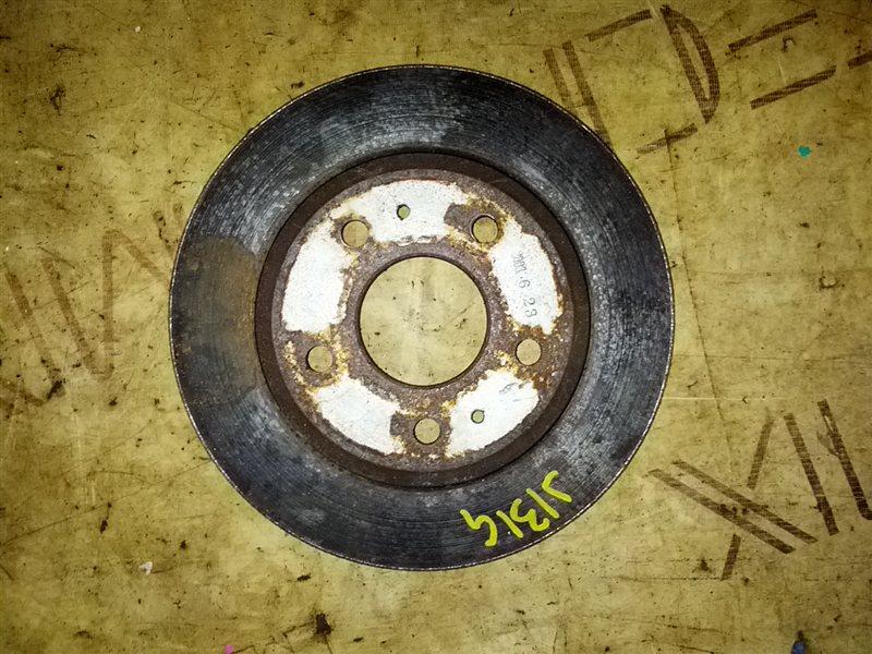 Тормозной диск Daihatsu Terios Kid J131G EF-DET 2003 передний правый (б/у)