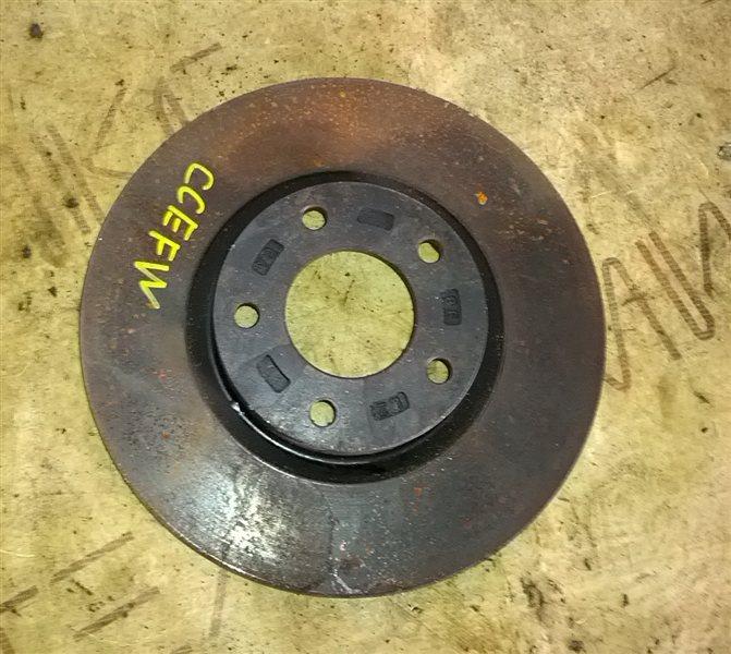 Тормозной диск Mazda Biante CCEFW LF-VD передний правый (б/у)