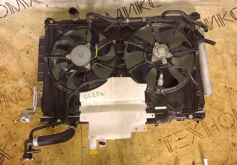 Радиатор основной Mazda Biante CCEFW LF-VD 2008 (б/у)