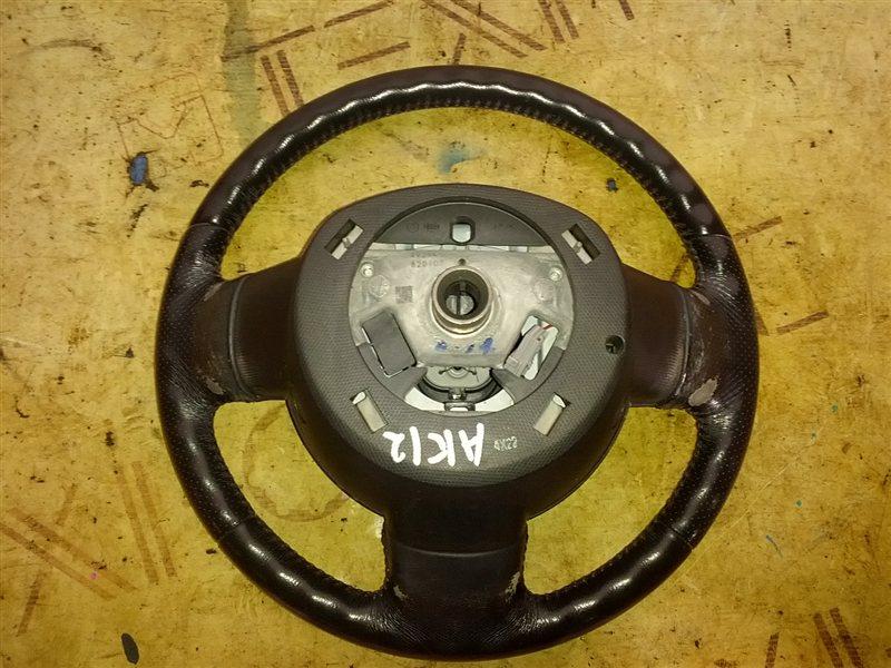 Руль с airbag Nissan March AK12 CR12(DE) 2004 (б/у)