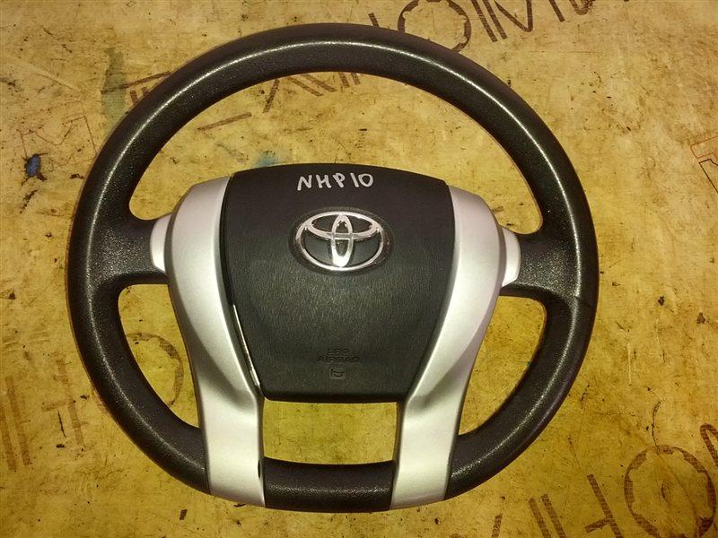 Руль с airbag Toyota Aqua NHP10 1NZ-FXE 2013 (б/у)