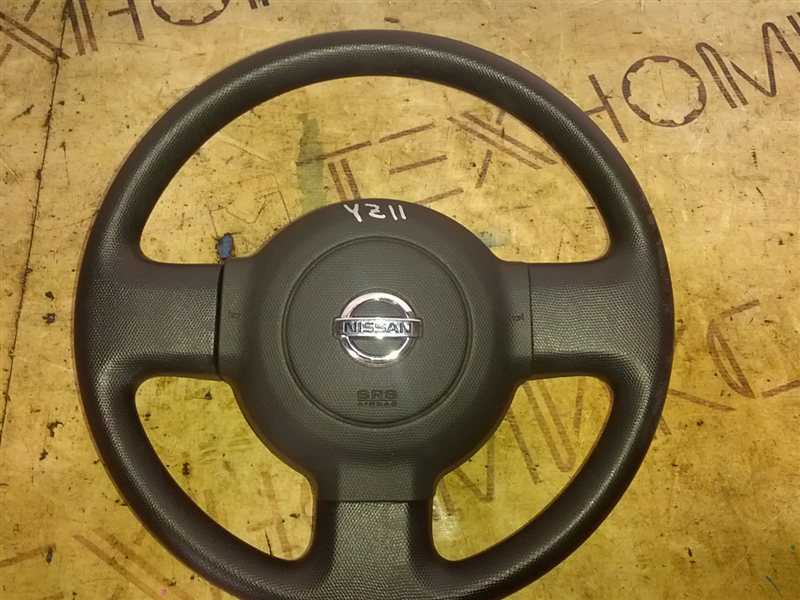 Руль с airbag Nissan Cube YZ11 HR15(DE) 2007 (б/у)
