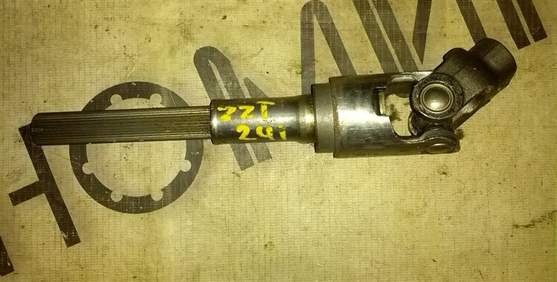 Рулевой карданчик Toyota Caldina ZZT241 1ZZ-FE (б/у)