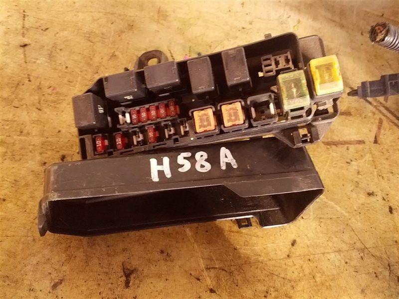 Блок предохранителей Mitsubishi Pajero Mini H58A 4A30T (б/у)