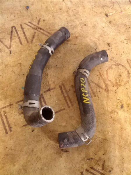 Патрубок системы охлаждения Toyota Funcargo NCP20 2NZ-FE 1999 (б/у)