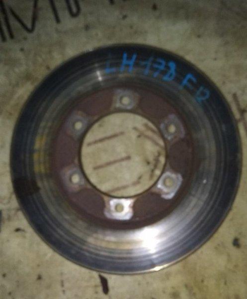 Тормозной диск Toyota Hiace LH178V 5L передний правый (б/у)