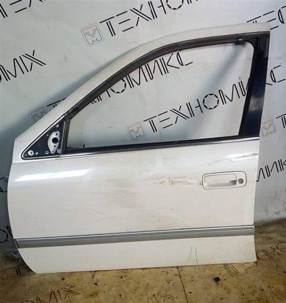 Дверь Toyota Mark Ii Qualis SXV20 передняя левая (б/у)