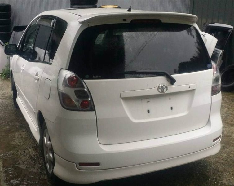 Дверь Toyota Corolla Spacio ZZE122 1ZZ-FE задняя левая (б/у)