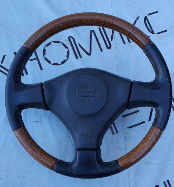 Руль с airbag Nissan Bluebird HU14 SR20(DE) (б/у)