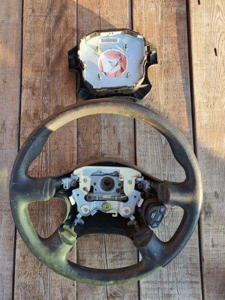 Руль с airbag Nissan Primera WTP12 QR20(DE) (б/у)