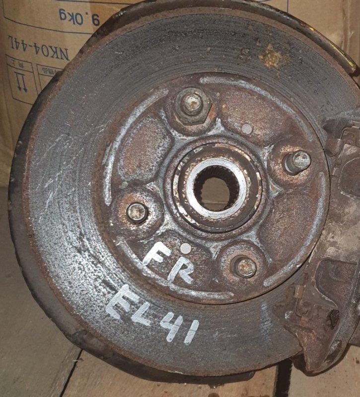 Тормозной диск Toyota Corolla Ii EL41 4E-FE 1994 передний правый (б/у)